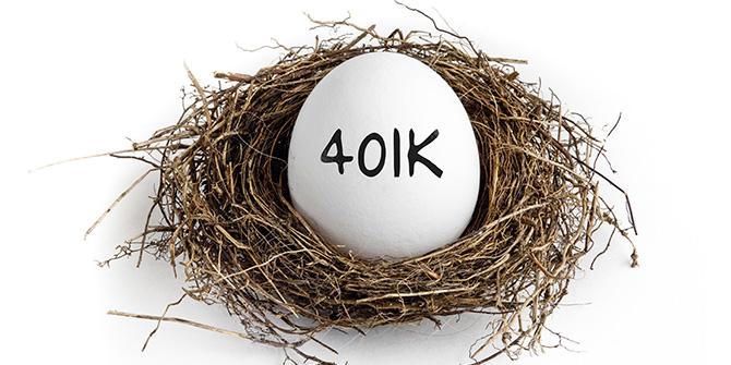 401(k) on egg in nest