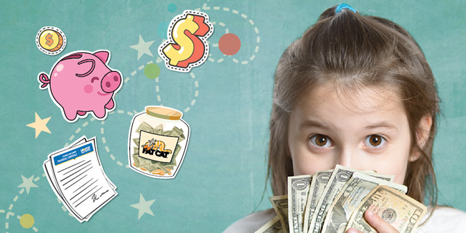 Smart money habits for young kids