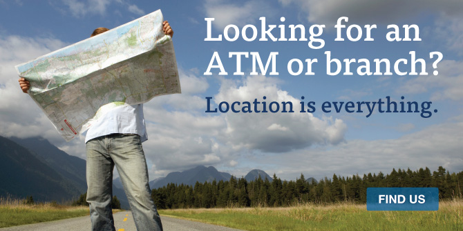 Manage your accounts at more than 1,000 CashPoints® ATMs and 250 branch locations.