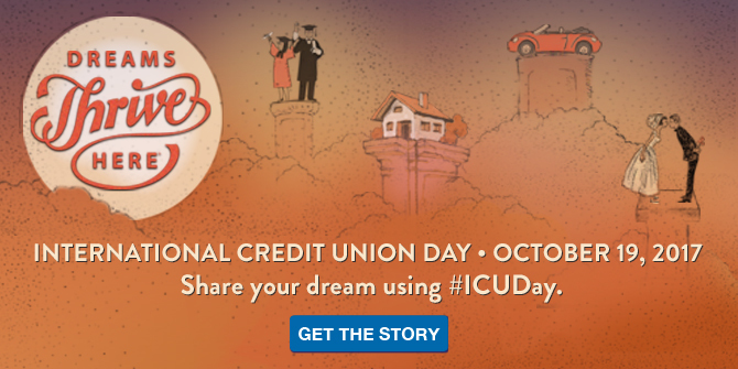LGFCU celebrates International Credit Union Day.