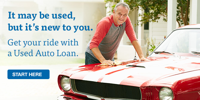 Used car loan from LGFCU.