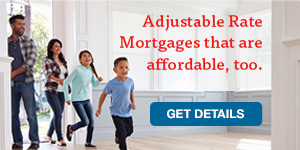 LGFCU Adjustable Rate Mortgages are a smart choice.