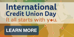International Credit Union Day - It all starts with you