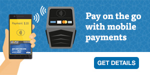 Link your LGFCU credit or debit card to a digital wallet for mobile payments.