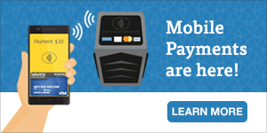 Mobile Pay is Here - Homepage