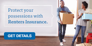 Renters insurance can protect your home valuables.