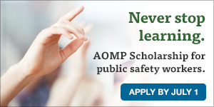 The Administrative Officers Management Program (AOMP) Scholarship is available for North Carolina local government personnel.