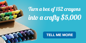 Turn a box of 152 crayons into a crafty $5,000 with your LGFCU Visa® Credit Card. Tell me more.