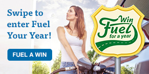 Win the Fuel Your Year Swipestakes. Use you LGFCU Visa Credit Card to enter!