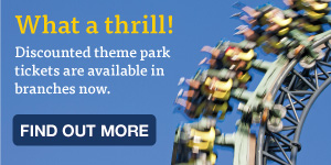 What a thrill! Discounted theme park tickets.