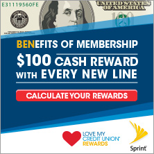Benefits of Membership | $100 cash reward with every new line. Calculate your rewards.