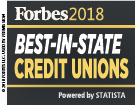 Forbes 2018, Best-in-State Credit Unions