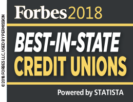 Forbes 2018 Best-in-state credit unions. Powered by STATISTA
