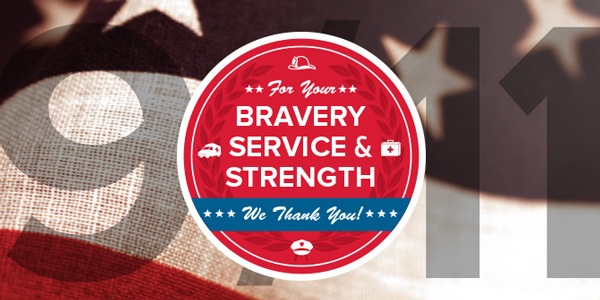 For your bravery, service & strength, we thank you!