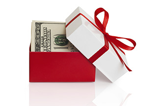 Our Holiday Cash Club lets you save money throughout the year for holiday shopping.