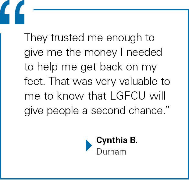 Cynthia B., Durham