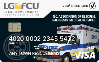 NCAR&EMS Visa® Check Card
