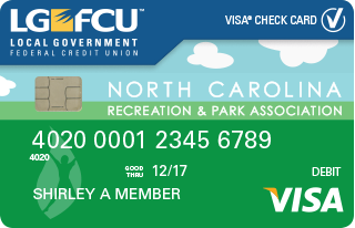 LGFCU NCRPA Visa® Check Card