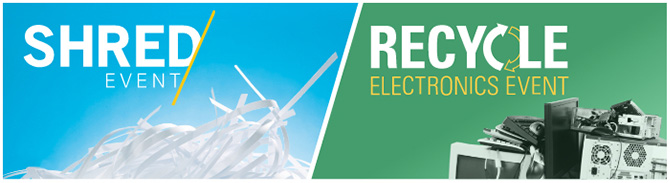 Shred Event / Recycle Electronics Event